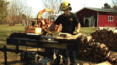 Firewood Log Splitter Rental