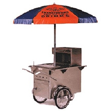Hotdog Push Cart (sterno fuel required)