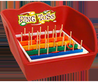 Ring Toss:  Table Top Carnival Game