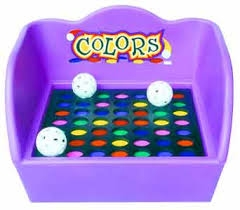 Colors:  Table Top Carnival Game