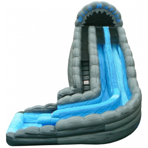 22' Tall Wild Rapids DUAL LANE Water Slide