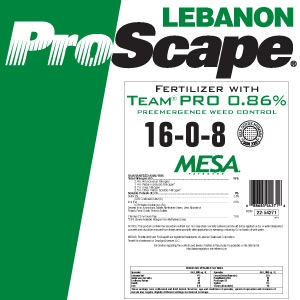 Lebanon Turf ProScape 16-0-8 Fertilizer w/ Crabgrass preventer