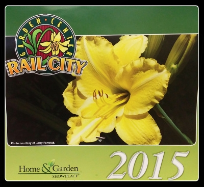 Rail City Garden Center 2017 Calendar