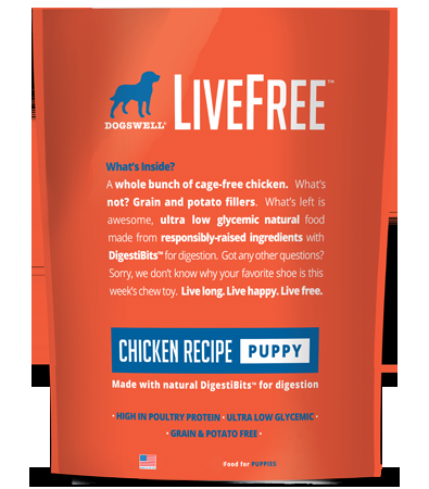 Dogswell Livefree Puppy Chicken Recipe Dry Dog Food