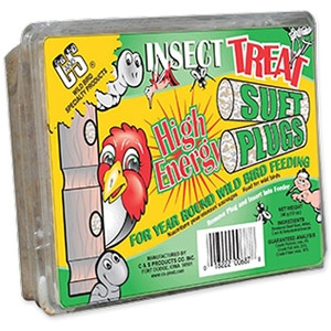 C & S Insect Treat Suet Plug