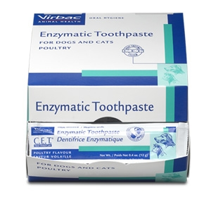 Virbac Animal Health C.E.T. Enzymatic Toothpaste for Dogs and Cats