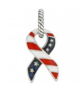 ABC Patriotic Ribbon Charm