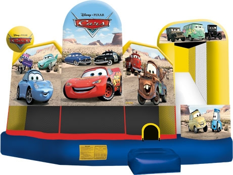 Cars 5-in-1 Bounce House
