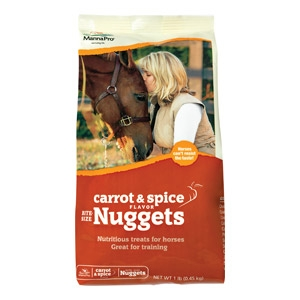 Manna Pro® Bite Size Nuggets Horse Treats - Carrot & Spice