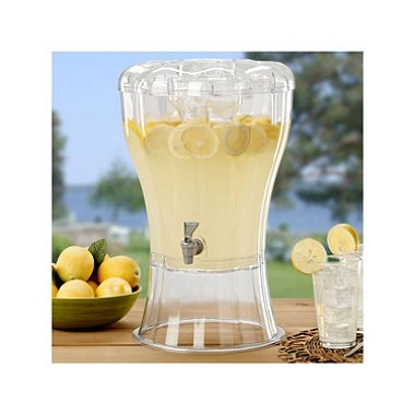Beverage Dispenser 3.5 Gallon Clear