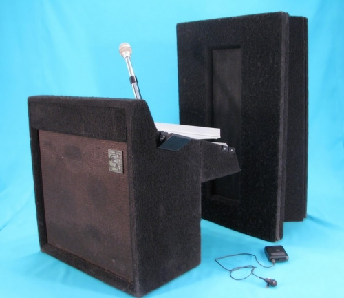 Lectern, Podium with Cordless Mic