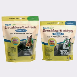 Ark Naturals Breathless Brushless Toothpaste for Medium/Large Dogs