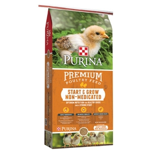 Purina® Start & Grow® Non-Medicated Chick Starter 50 lbs.