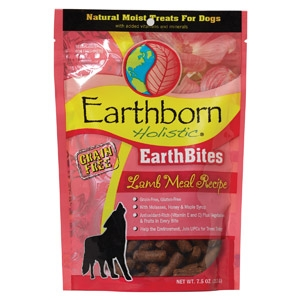 Earthborn Holistic® EarthBites™ Lamb Meal Recipe Natural Moist Treats For Dogs