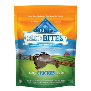 BLUE Bites® Tasty Chicken Natural Soft-Moist Dog Treats
