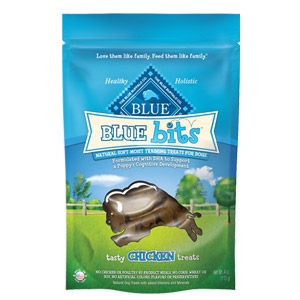 BLUE Bits® Tasty Chicken Natural Soft-Moist Training Treats