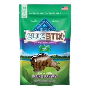 BLUE Stix™ Lamb & Apple Natural Soft-Moist Dog Treats