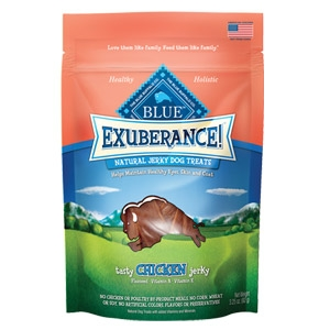 BLUE Exuberance!® Tasty Chicken Jerky Natural Jerky Dog Treat