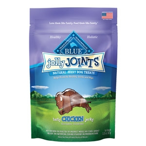 BLUE Jolly Joints® Tasty Chicken Jerky Natural Jerky Dog Treat