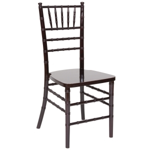 Chair, Mahogany Chiavari