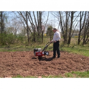 MacKissic Minnie Mid-Tine® Tiller, 4.5HP Front Tine