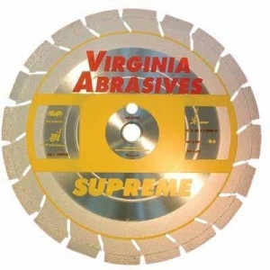 Virgina Abrasives Diamond 14x.125x1-20mm Supreme High Speed Wet/Dry Multi Purpose