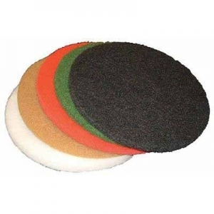 Virgina Abrasives Pads White Polish 13 x 1