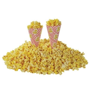 Gold Medal Corn 'O Corn Popcorn Cones - Box of 250 cones