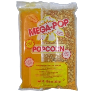 MegaPop® Corn/Oil Salt Kits for 8oz Kettles