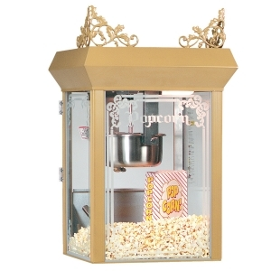 12 0z. Popcorn Machine w/ cart