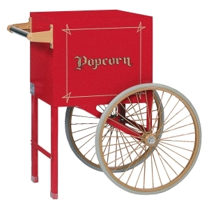 "Gold Medal 18"" Red Popcorn Cart"