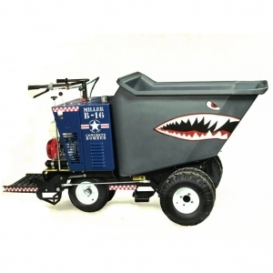 Miller Spreader 11CF Walk Behind Concrete Power Buggy Poly Bucket