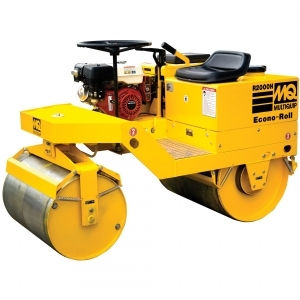 Multiquip Double Drum Ride-On Roller