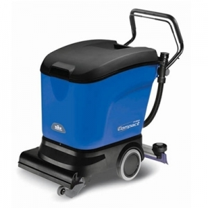 "SABER™ Compact 16""  Automatic Cylindrical Floor Scrubber with 2-12V 105 A/H batteries, 12A automatic charger"