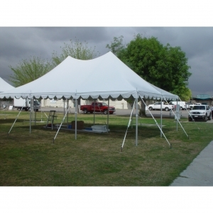20x30, 20x40, 20x50 High Peak Tension Pole Tent