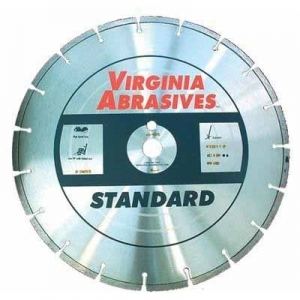 Virgina Abrasives Diamond 18x.125x1-20mm Standard High Speed Wet/Dry Soft Aggregate