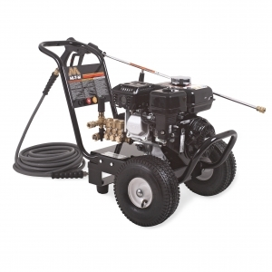 2400 PSI@ 2.4 GPM Direct Drive Steel Frame Pressure Washer