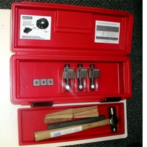 EDCO Tool Box Startup (3 StripSerts w/Carbides, Wedges, Tool Box, Punch, Hammer)