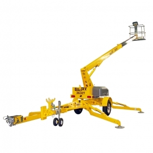 BilJax Towable Boom Lift