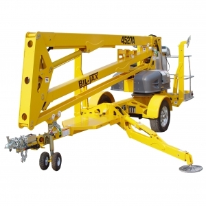 BilJax Towable Boom Lift 52ft