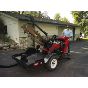 Toro Co. TRX/STX Trencher Trailer(quick loading one pin attachment)
