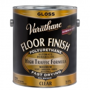 Rust-Oleum Varathane ® Gloss Floor Classic Clear (Oil) - Gallons