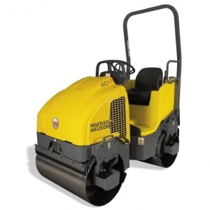 Wacker Neuson Vibratory Ride-on Roller, double drum