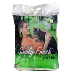 Simply Fresh™ Natural (Clumping) Cat Litter Green Apple Scent