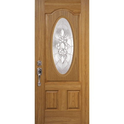 Oakcraft Fiberglass Entry Doors from Masonite