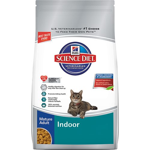 Hill's® Science Diet® Mature Adult Indoor Cat Food