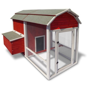 Precision Pet Products Old Red Barn Chicken Coop