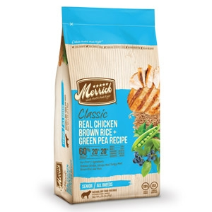 Merrick® Real Chicken, Brown Rice + Green Pea Dog Food