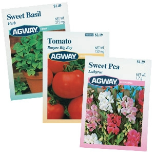 Agway® Flower, Herb and Vegetable Seeds