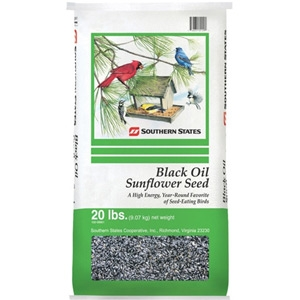 Southern States Black Oil Sunflower Seed 20lb